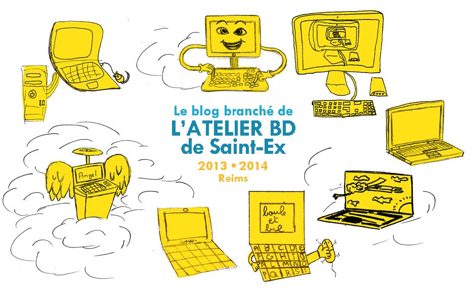 Atelier bd à Saint Ex