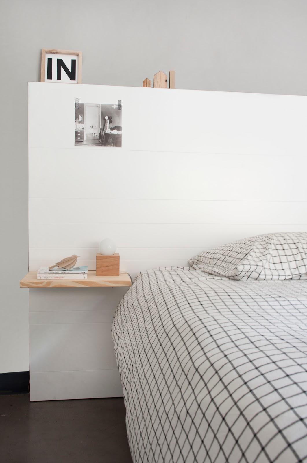 Kasa apoyo de cama snow y wood snow for Kasa diseno interior