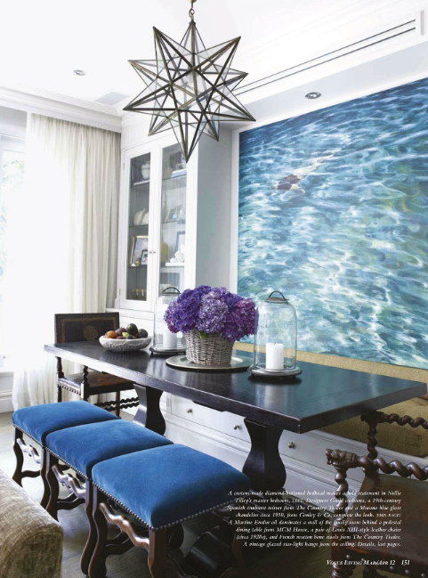 Dining Room by Nellie Tilly from Vogue Living Australia