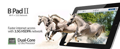 Beyond B Pad II, Tablet Android 7 Inci Dual SIM Didukungan DualCore 1.2GHz & TV Analog