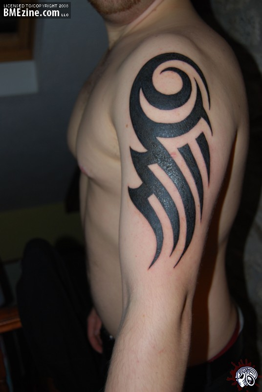 tribal arm tattoo tattoo pictures gallery arm bands tribal tattoos ...