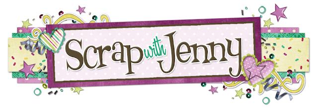 Scrap with Jenny Blog Design