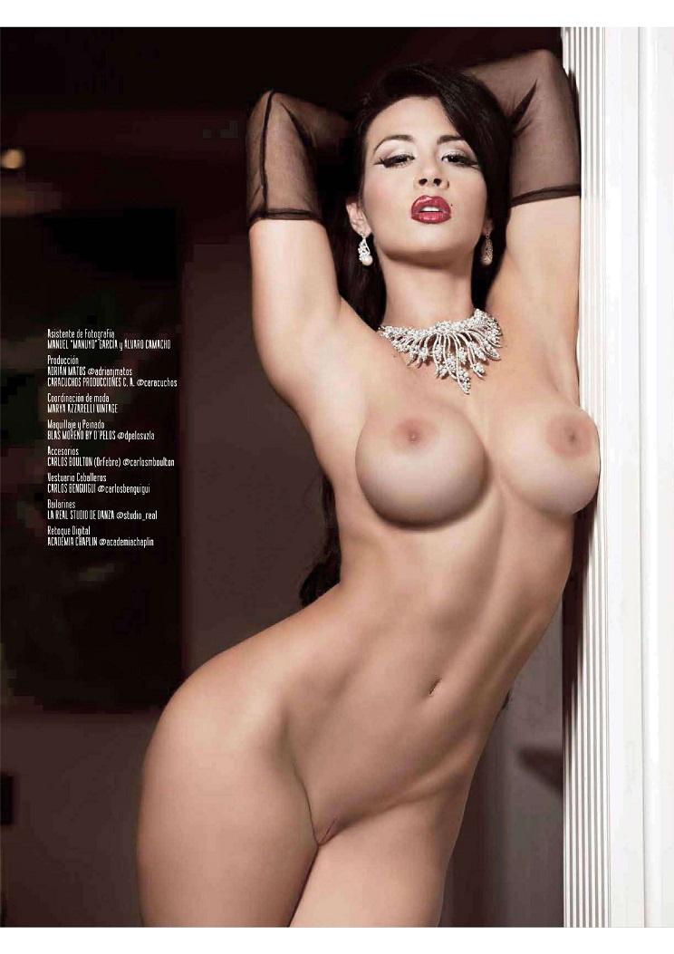 Diosa Canales Desnuda Playboy M Ico Junio