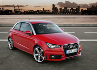 Red Audi A1 HD Wallpaper