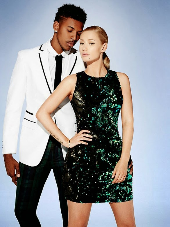 Iggy Azalea for Forever 21 Australia nick young fashion sydney