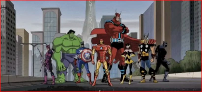 Marvel Super Heroes animatedfilmreviews.filminspector.com