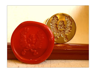 LetterSeals.com custom monogram wax seal stamp