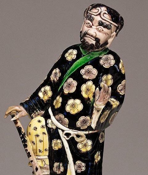 """<img src=""""Kangxi Porcelain Li Tieguai  .jpg"""" alt="""" Famille Noire on Biscuit"""">"""