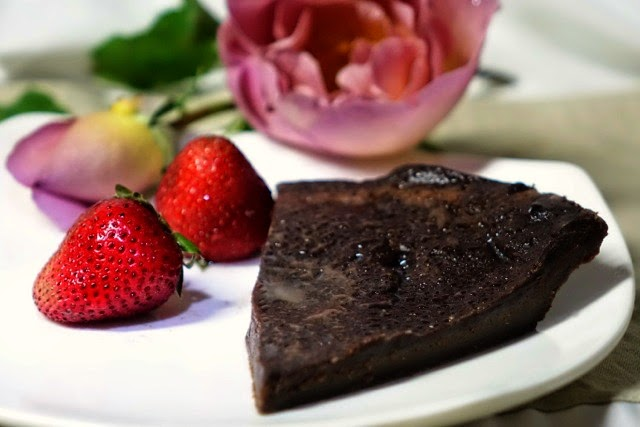 Indulge - French chocolate tarte with dark chocolate ganache