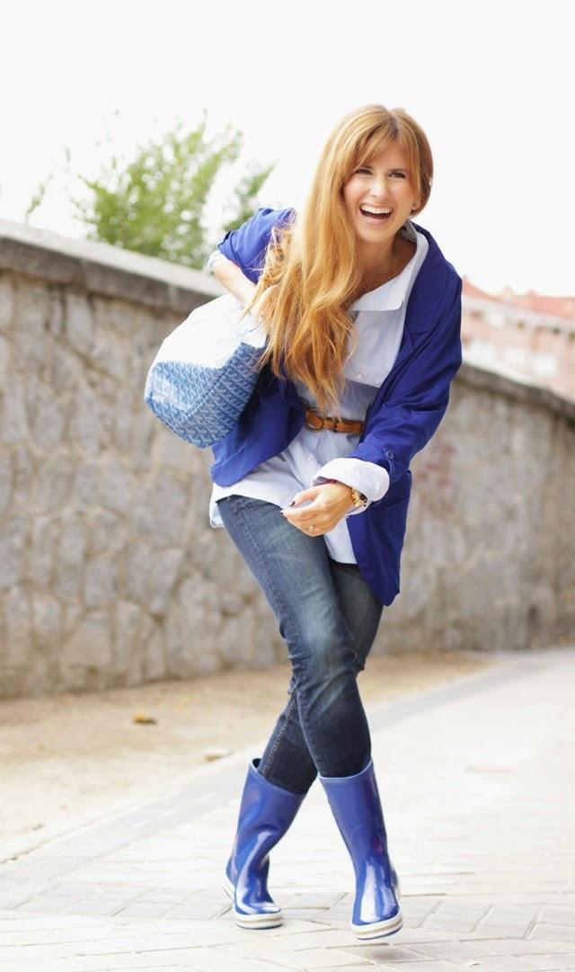 Happy Girl. Goyard Bag