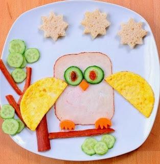 Desayunos para ni os con figuras divertidas cositasconmesh for Platillos para ninos