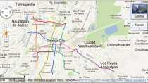 Tránsito de la Ciudad de México Google Transit tráfico del DF en tiempo real