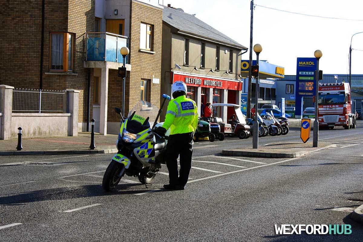 Garda Motorcycle