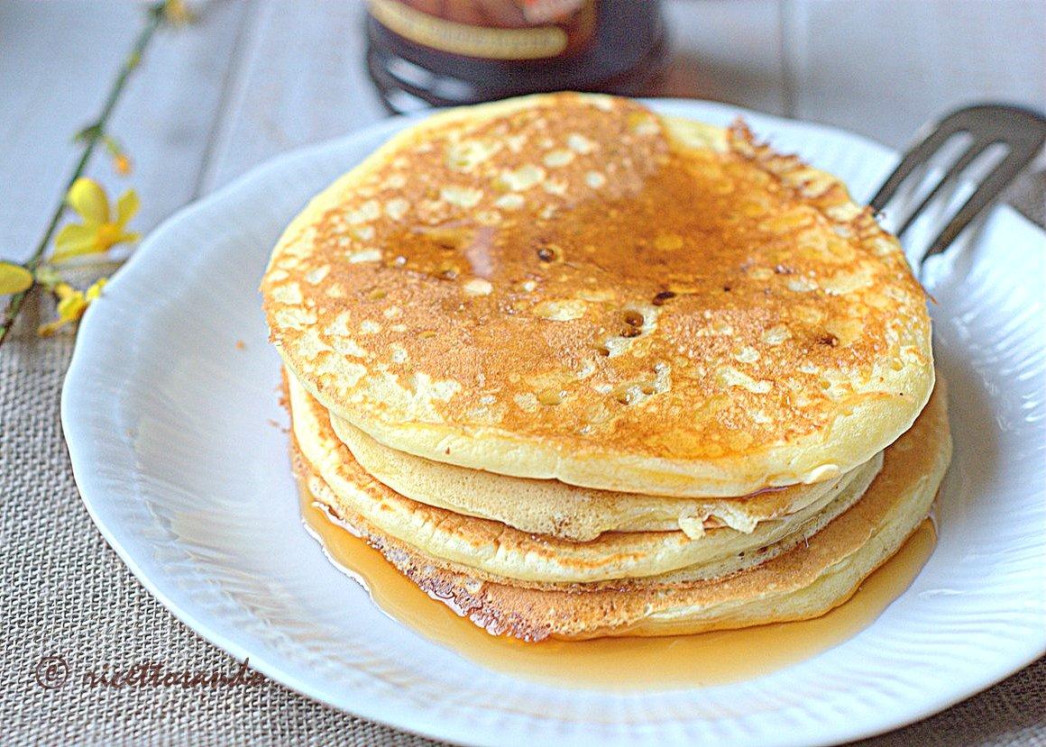 Pancake ricetta delle classiche focaccine americane