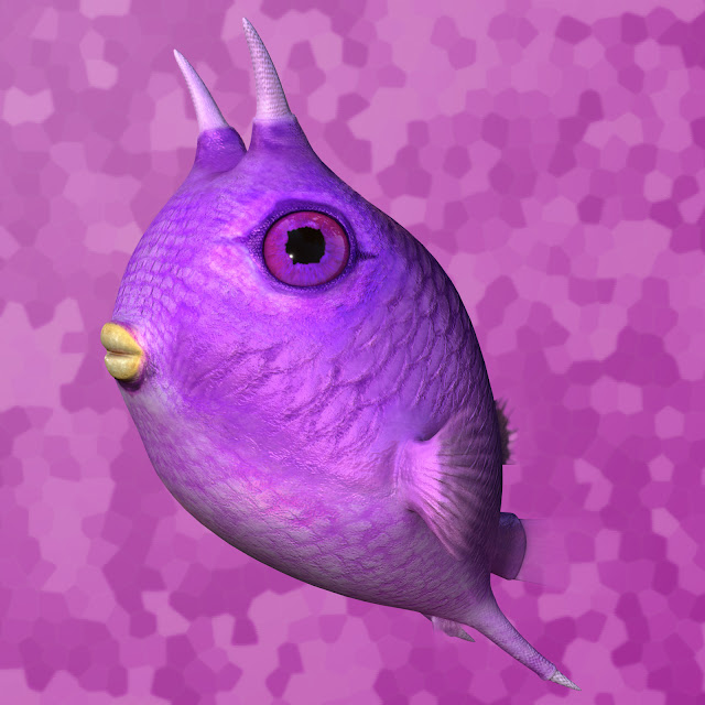 CUTE FISH character