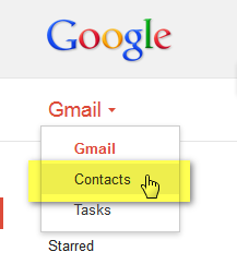 iphone contacts gmail
