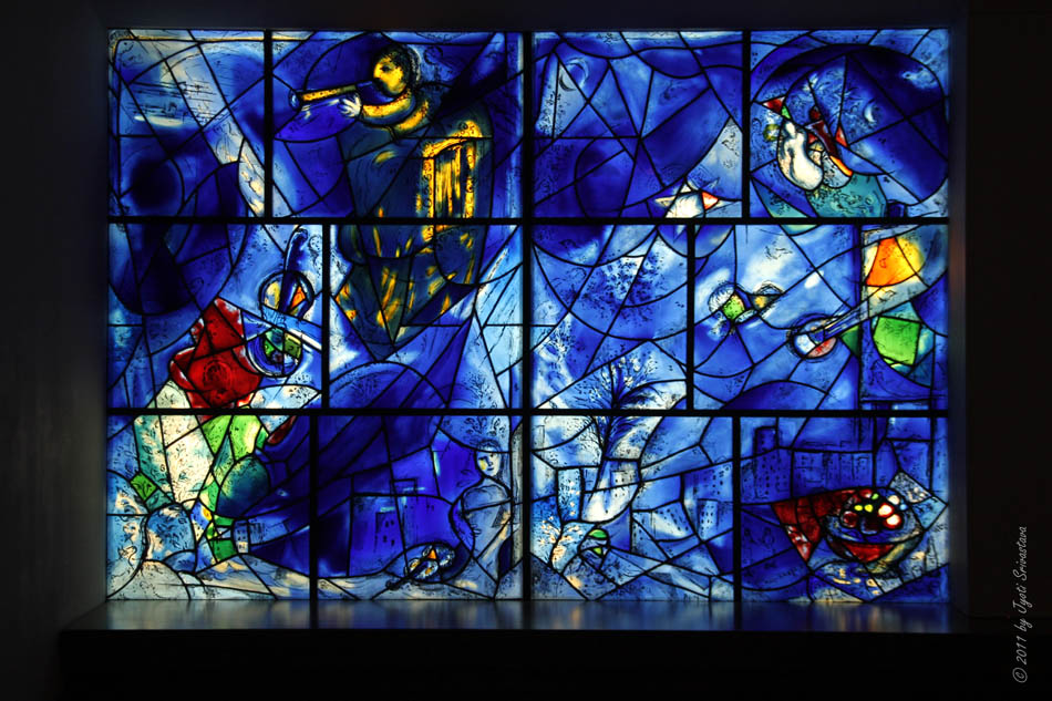 Public art in chicago aic reinstallation of the american for Chagall mural chicago