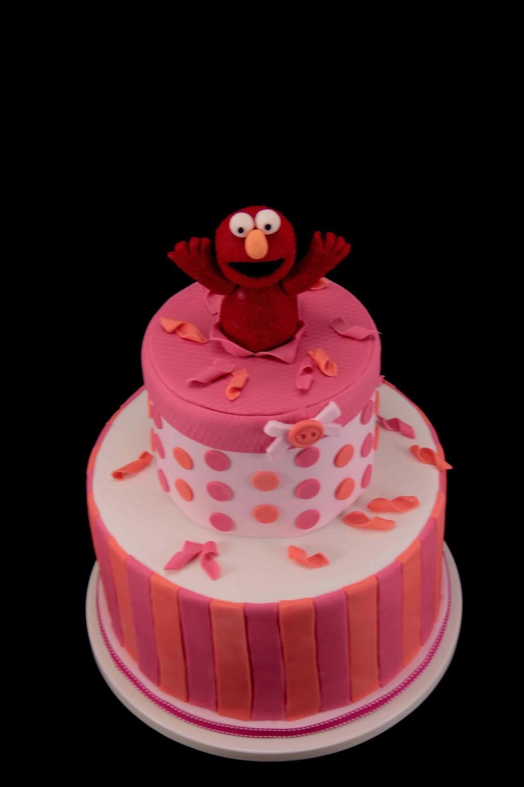 Bakerz Dad Elmo Cake