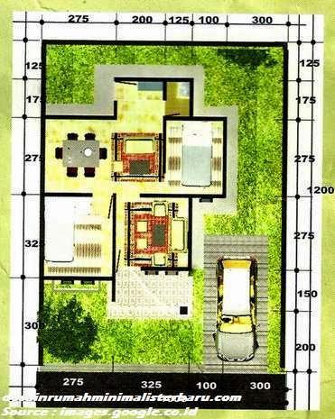 desain rumah minimalis type 45 4