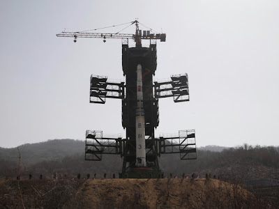 Controversial North Korean Rocket Launch Apparently Fails in Flight