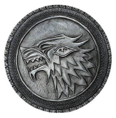 San Diego Comic-Con 2013 Exclusive Game of Thrones Replica House Stark Shield by Dark Horse