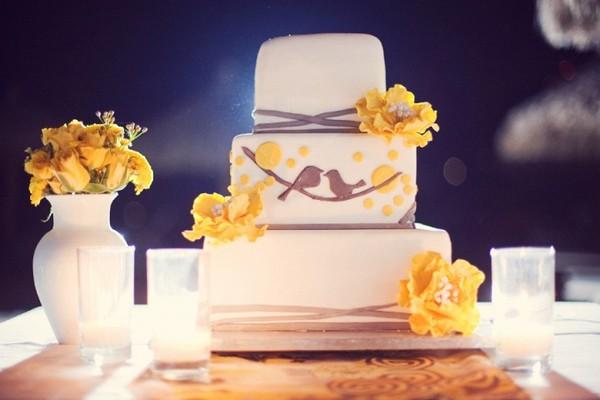 Love Bird Wedding Cakes Things Festive Weddings & Events