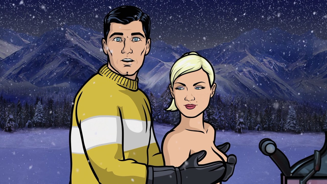 Anka from archer poen adult movie