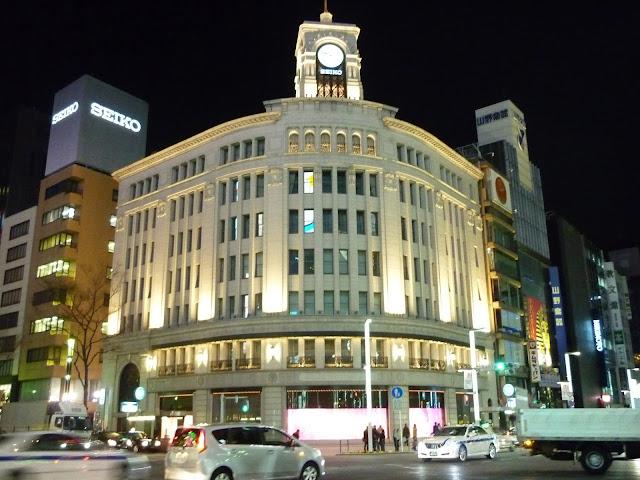 muoversi di sera a tokyo