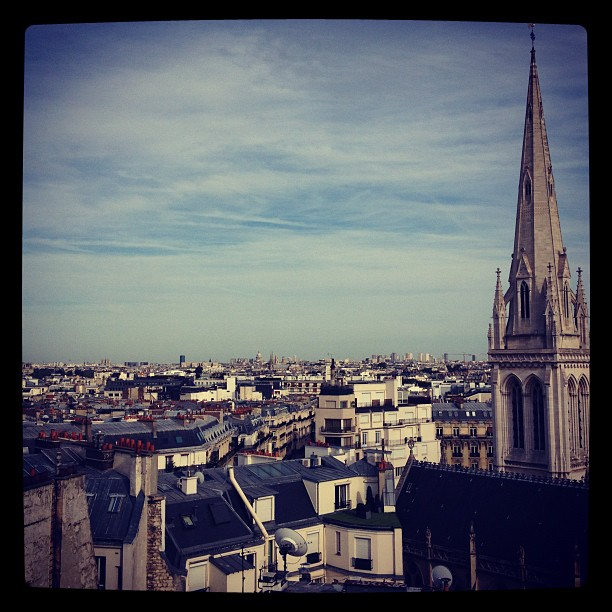 view of paris, 8th arrondissement