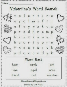 valentine word search puzzles printable for kids 5