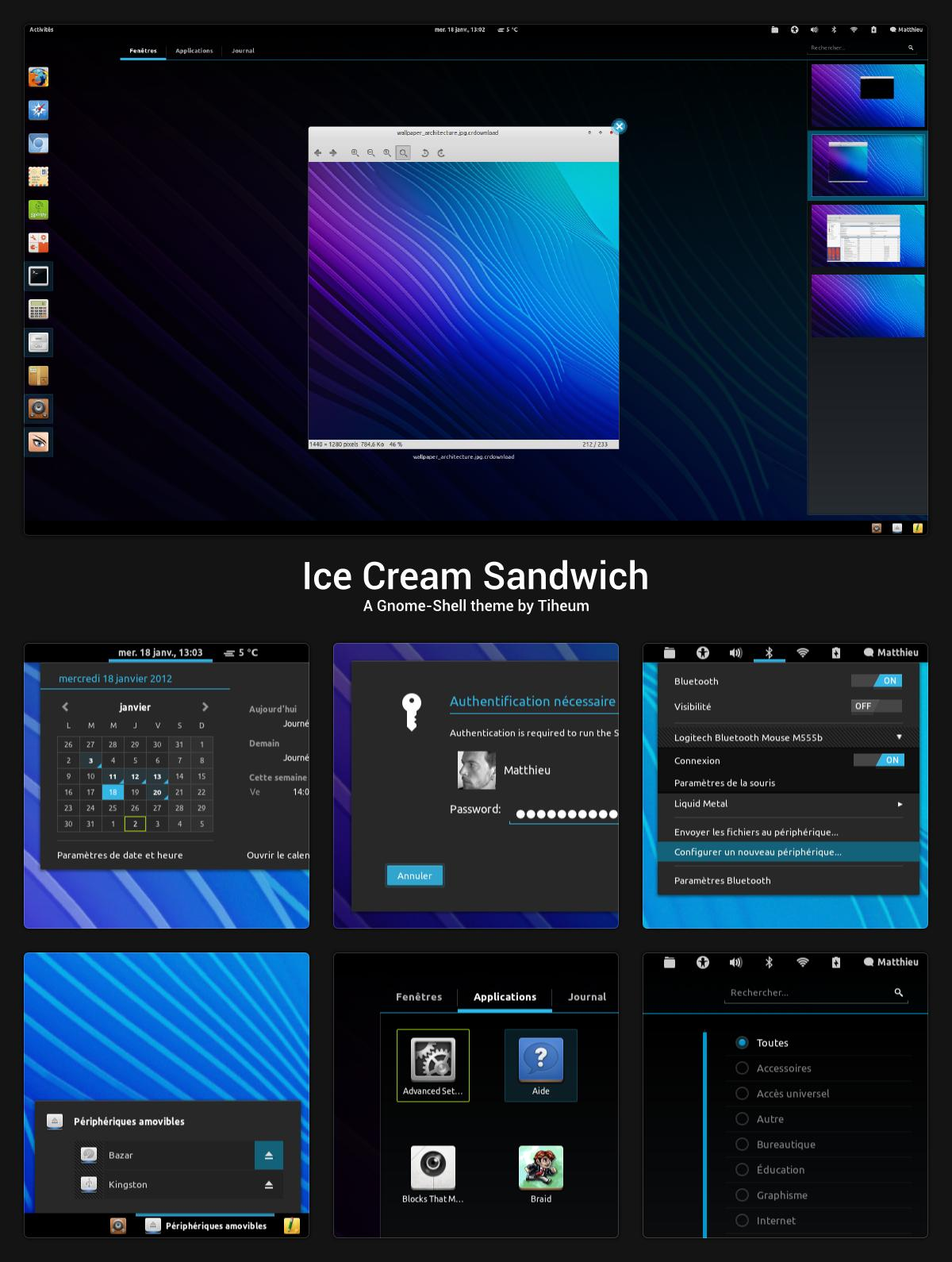Linux gnome shell ice ver 40 faenza tiheum android 40 gnome voltagebd Images
