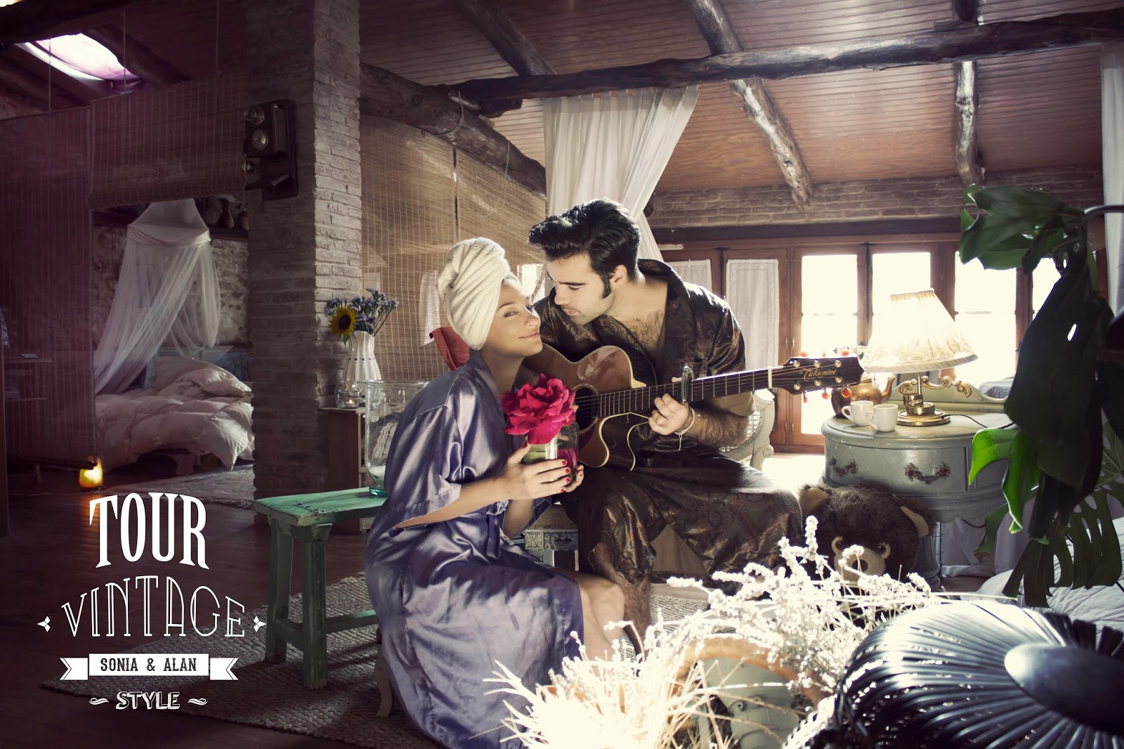 Casa rural la pintora Requena. Alan Blesa y Sonia Soler. tourvintage.blogspot.com