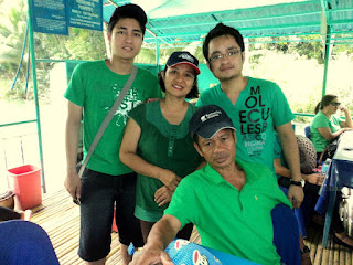 Family picture at Loboc