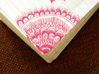 corner doodle