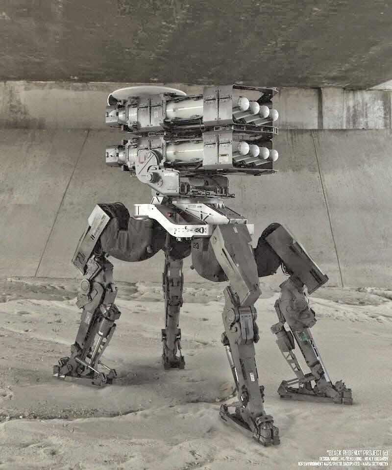 robot tempur masa depan