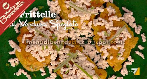 Frittelle di Verdure Speziate di Benedetta Parodi