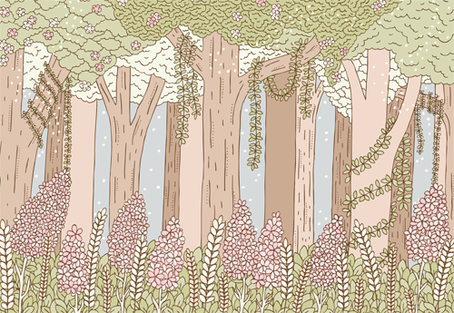 Emma Margaret Illustration Enchanted Forest 2015