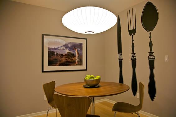 Muebles y decoración de interiores: stickers para decorar las ...