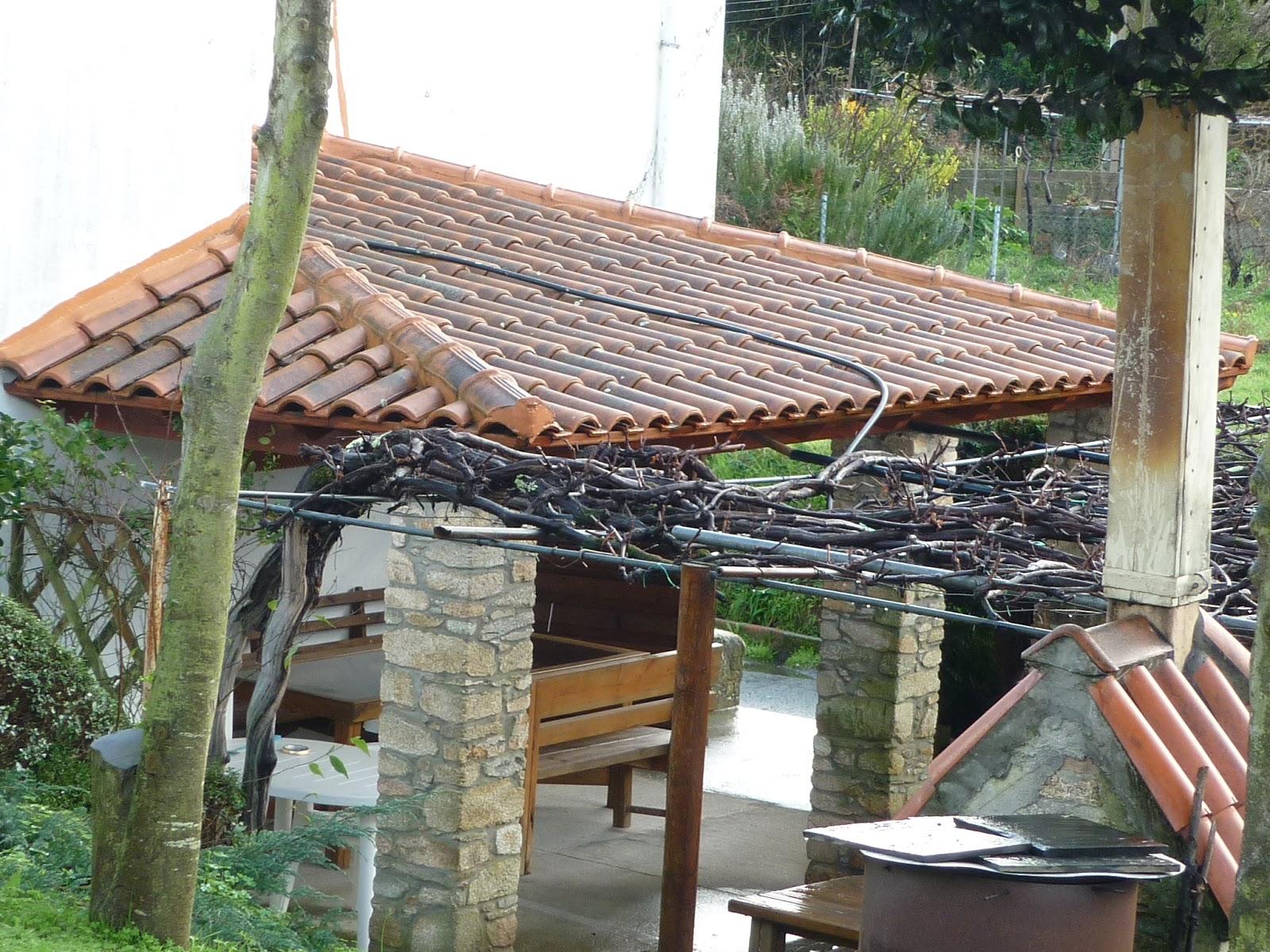 Artesan a porches p rgolas estructuras tejados etc - Tejados para pergolas ...