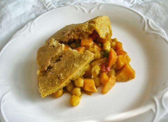chickpea pie