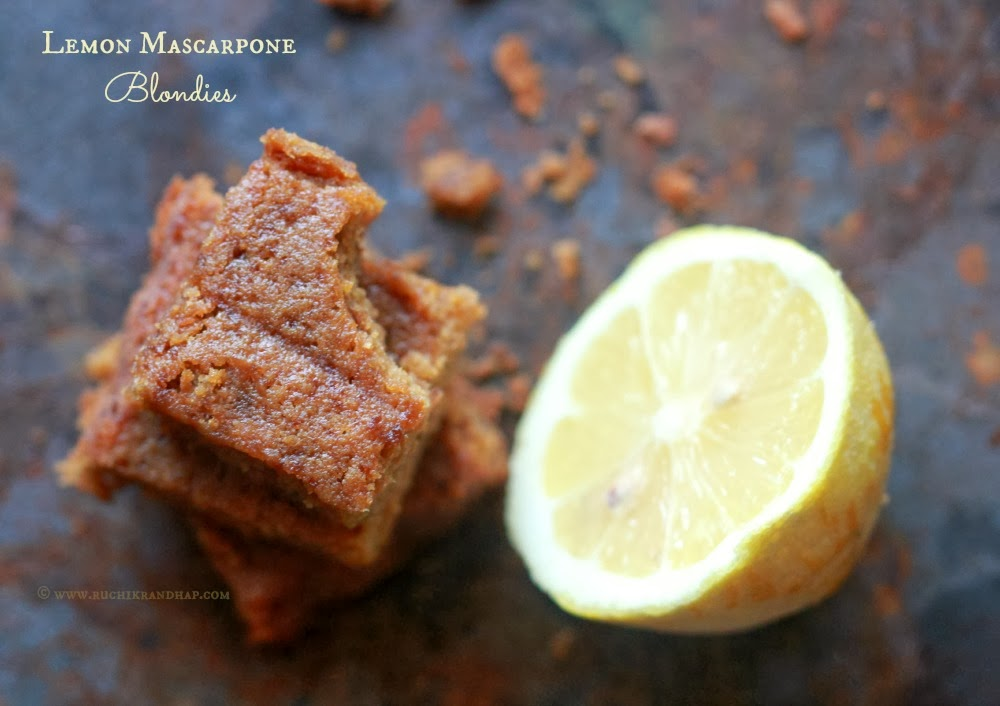 lemon mascarpone blondies lemon mascarpone blondies lemon mascarpone ...