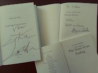 handtekening Zafon Hodgkinson Barnes