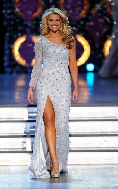 Pageant Minute Miss America 2012 Evening Gowns Nick Verreos