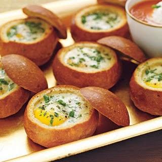 Pão com ovo chic | Gordice da semana