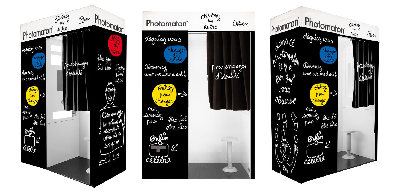 la cabine photomaton est une oeuvre d 39 art suite le blog officiel de photomaton. Black Bedroom Furniture Sets. Home Design Ideas