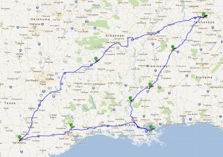 Steering Wheel Shaking >> new2nashville: Road Trip