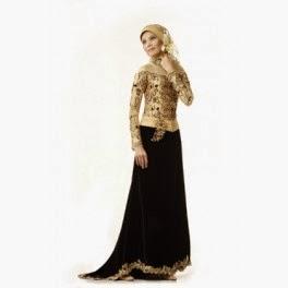 Contoh Model Baju Kebaya Muslim Wisuda Terbaik 2015