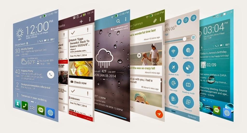 ZenUI Apps Zenfone