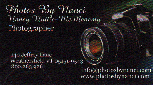 Weathersfield vermont directory of services sample of business card sample of business card listing reheart Choice Image