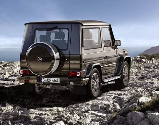Mercedes jenis G - Class